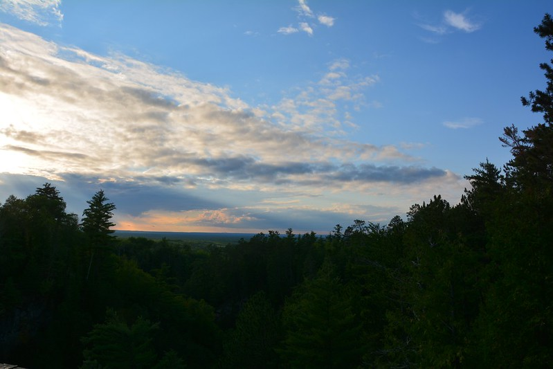 Sunset at Big Manitou