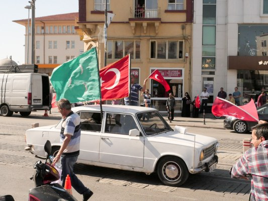 The day after the failed coup attempt
