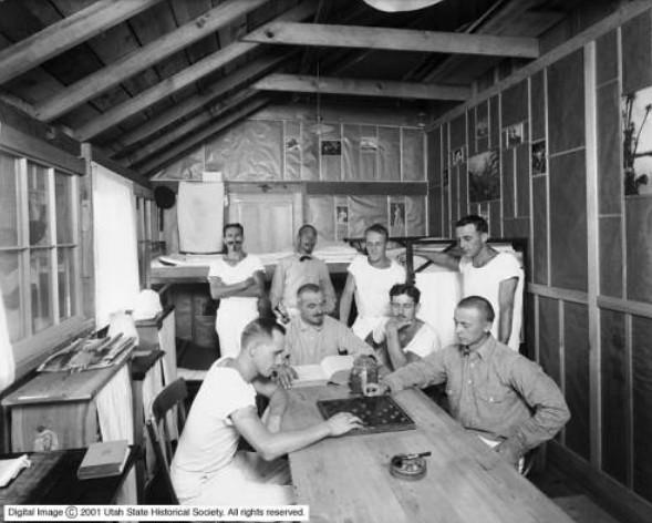 German POWs, 1917