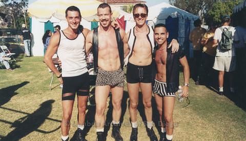 San Diego LGBTQ Pride Festival Backstage, 1999