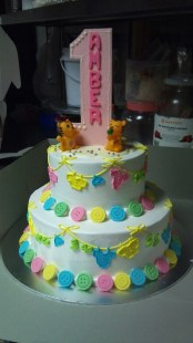 Amber's 1 year old cake