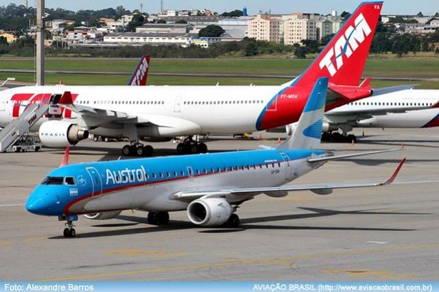 Rota Brasil, Rota Brasil – Argentina – Brasil, Portal Aviação Brasil