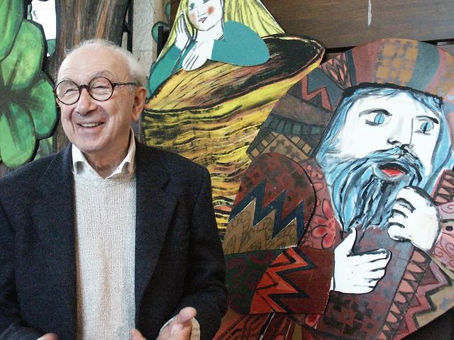Emanuele Luzzati (2) copyright Museo Luzzati_Nugae
