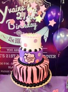 yvaine's 21st birthday cake