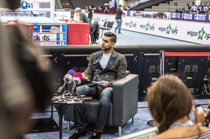 #AIBAWorlds2015 Amir Khan meets the media at #AIBAWorlds2015