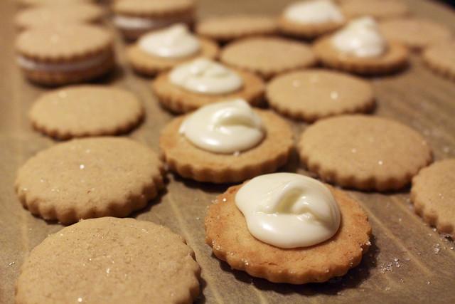 Eggnog Sandwich Cookies - 24