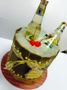 Somersby birthday cake