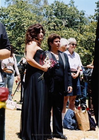Commitment Ceremony at San Diego LGBTQ Pride Festival, 2004