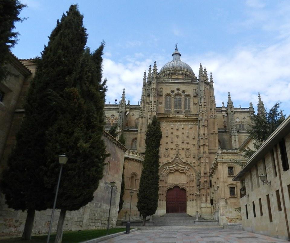 Portada del patio Chico fachada sur de la Catedral de Salamanca 18