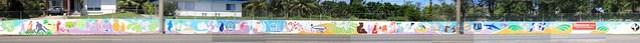 Yigo Village Mural Designed by Greg Flores