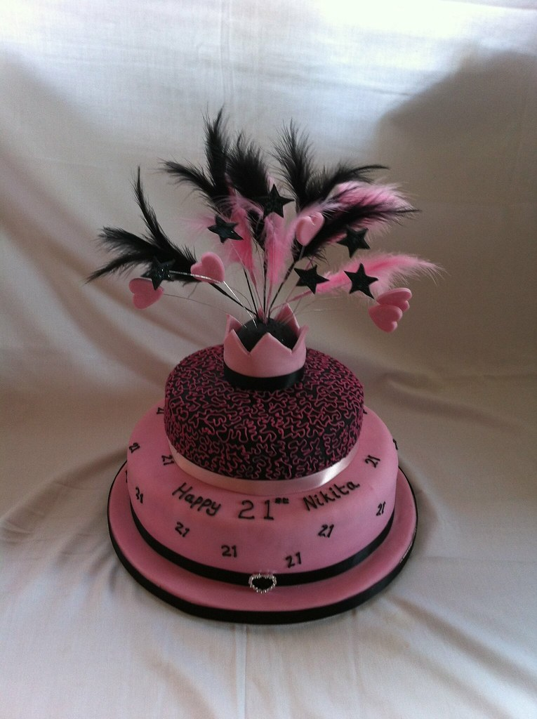 21st Birthday Cake For Her Tracy Yapp Flickr