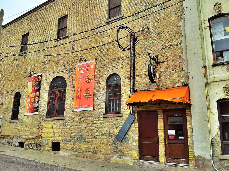 Huether Hotel , Lion Brewery , Waterloo