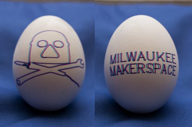Milwaukee Makerspace 3D Egg