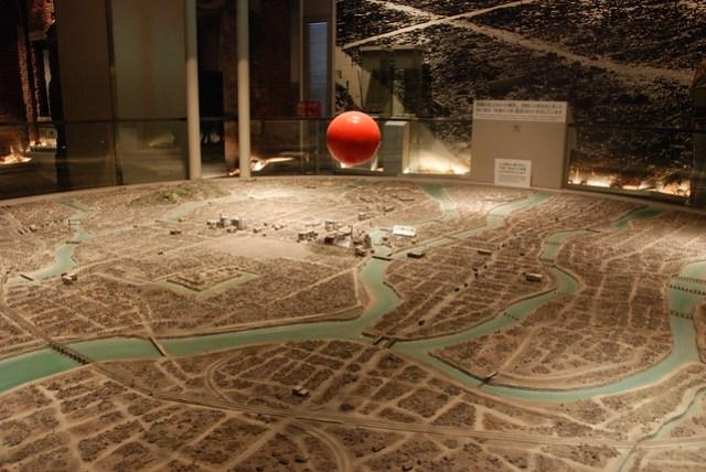 Model of the Hiroshima bombing