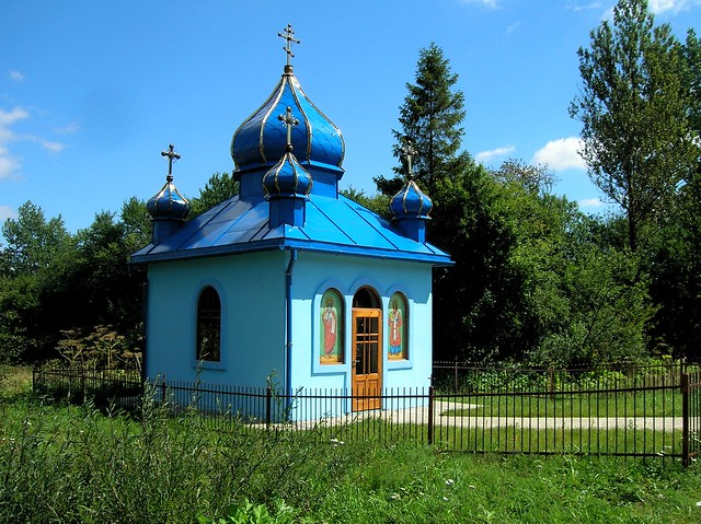 Typical road-side shrine by bryandkeith on flickr