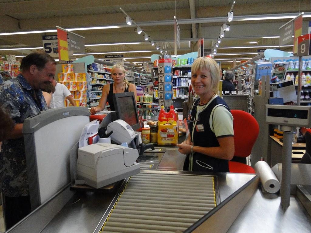 Cashier Supermarket