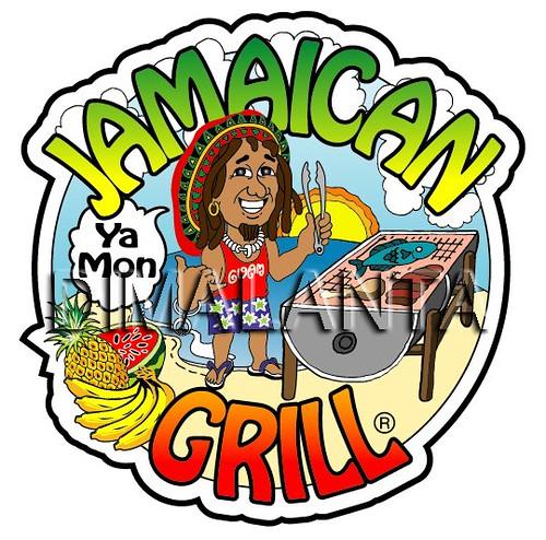 Jamaican Grill Logo Design by Ariel Dimalanta