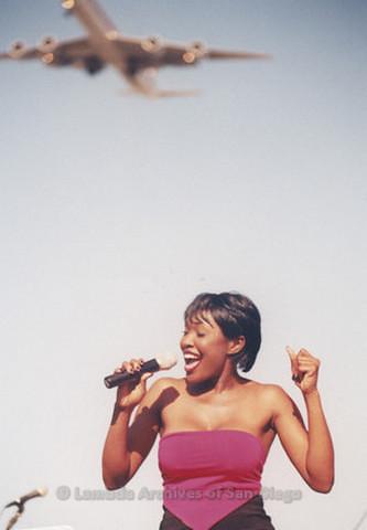 Main Stage at San Diego LGBTQ Pride Festival, 1999