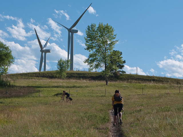 Wind Turbines and Bicycles