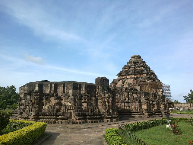 Konark Sun temple from backside