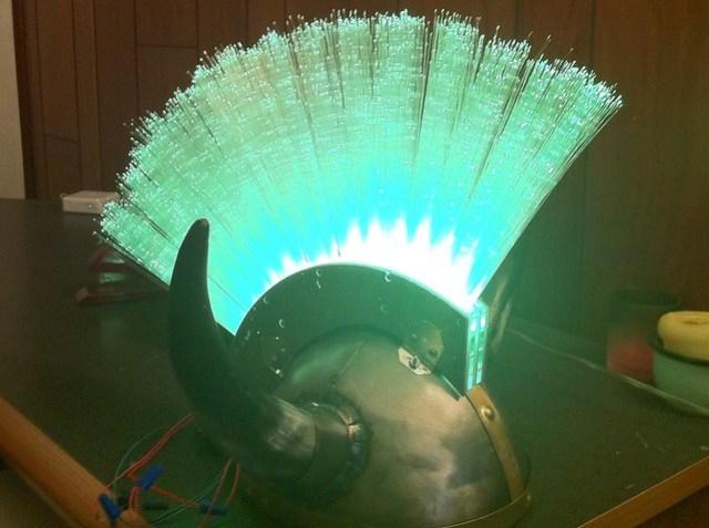 LED Viking Mohawk