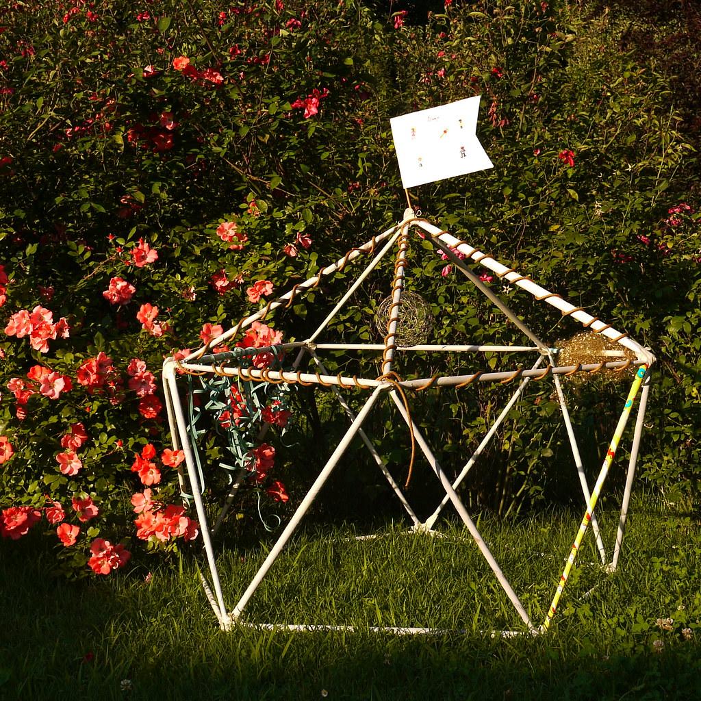 Garden Geodesic Dome V1