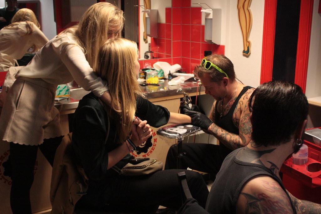 Amsterdam Tattoo Museum - museumnacht 2011