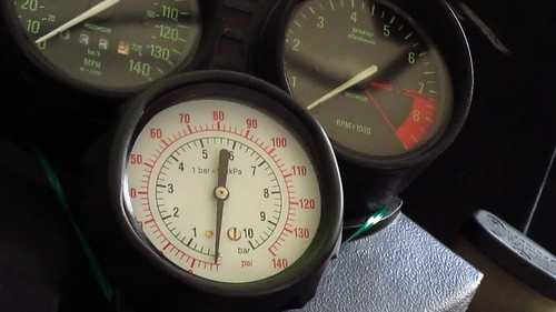 Hot Engine Oil Pressure
