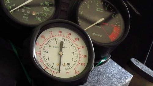 Hot Engine Oil Pressure