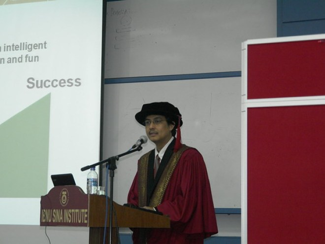 The Inaugural Professor of Chemistry - 2011