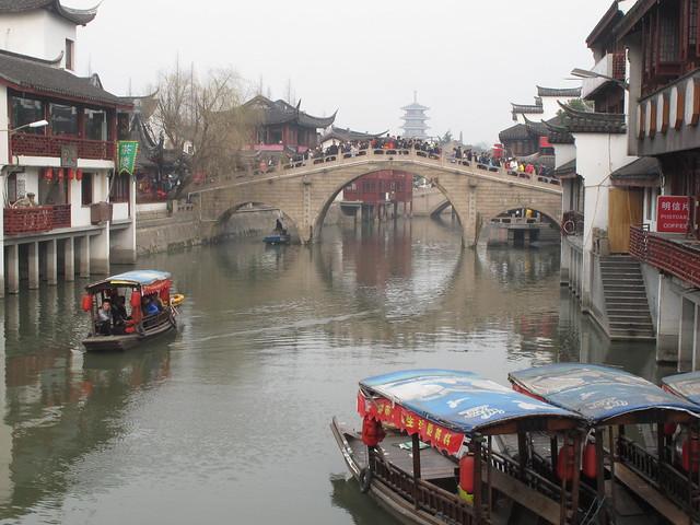 Bridge at Qibao Ancient Town