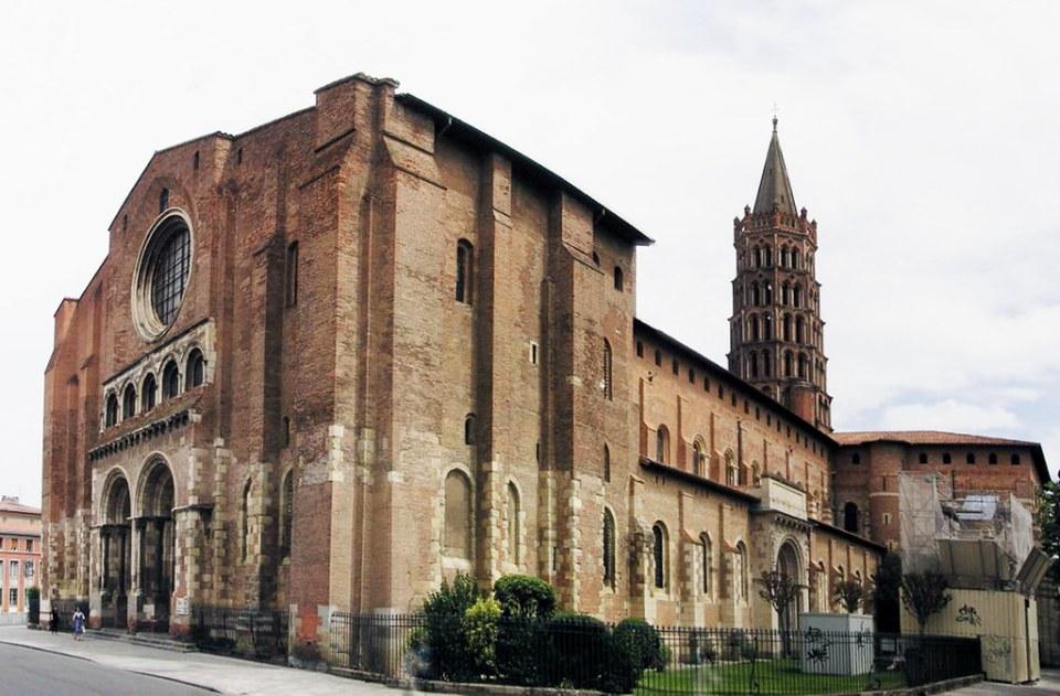 Basílica de Saint Sernin o San Saturnino de Toulouse Francia 33