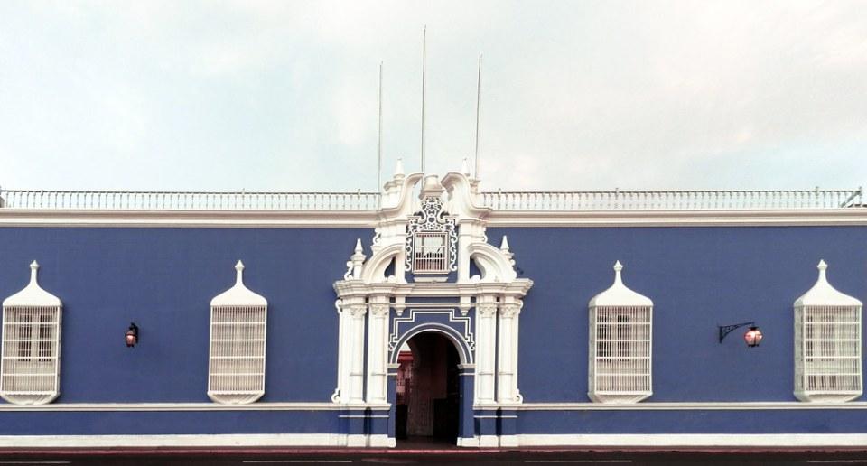 Arzobispado de Trujillo Plaza de Armas en Jiron La libertad Trujillo Peru 04