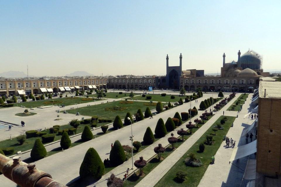 Plaza de Naghsh-i Jahan Plaza Real Imám Jomeini Khomeini Isfahán Irán 03