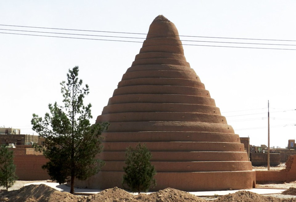 Iran Abarkuh nevera del desierto Yakhchal