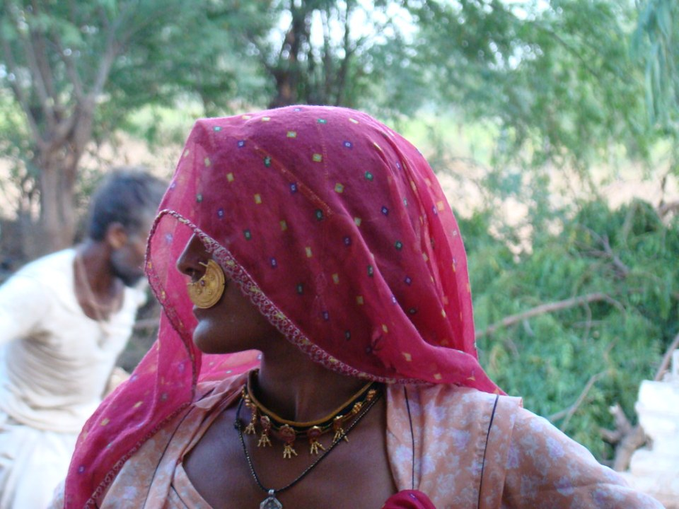 Jodhpur mujer su gente India 34