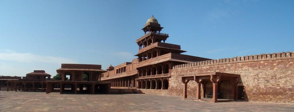 Palacio Panch Mahal Fatehpur Sikri India 08