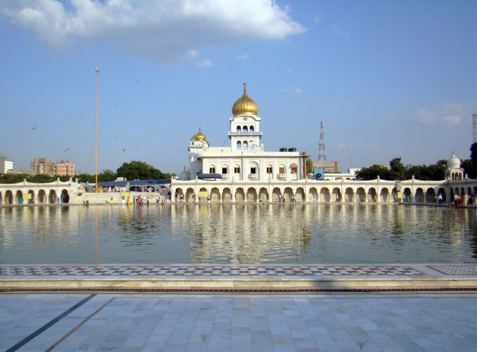 Gurdwara Bangla Sahib Delhi India panoramica 20