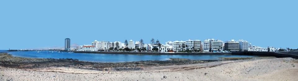 vista panorámica Arrecife Lanzarote islas Canarias 01