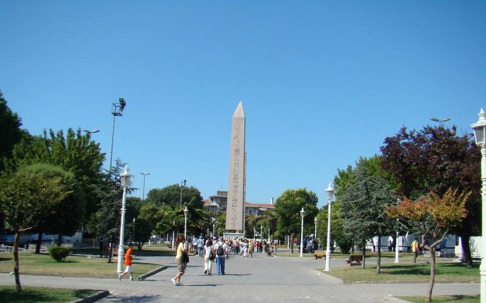 Turquia Estambul Obelisco de Teodosio Hipodromo de Constantinopla 15