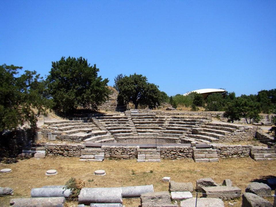 Odeón Troya Turquía 36