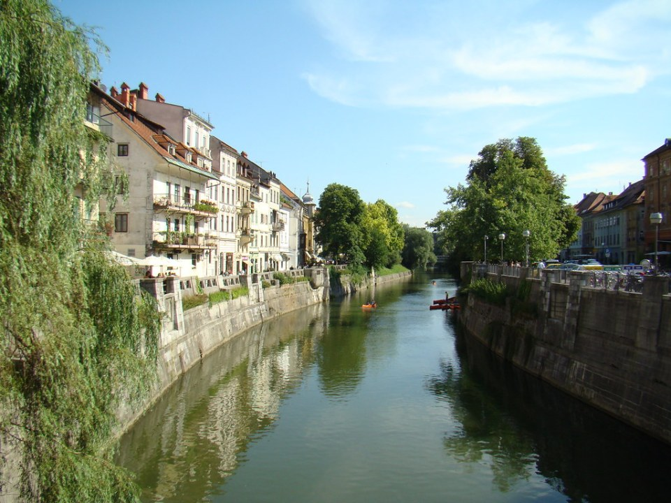 crucero fluvial por rio Ljubljana Liubliana Eslovenia 28
