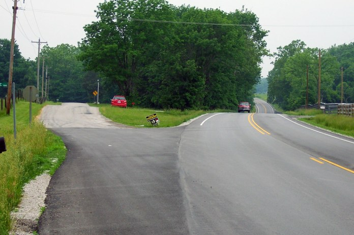 Old US 36 and US 36