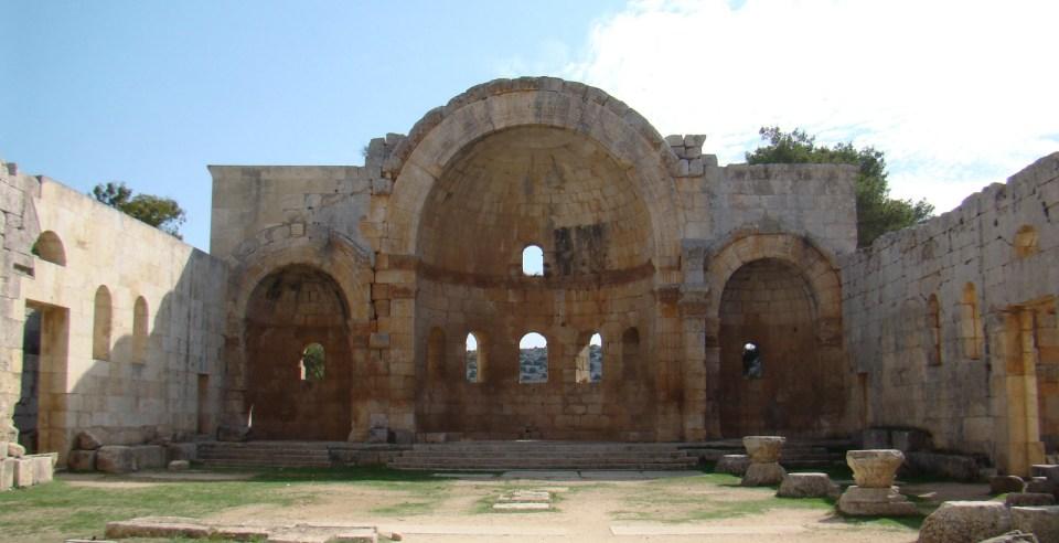 Abside Monasterio de San Simeon Siria 33