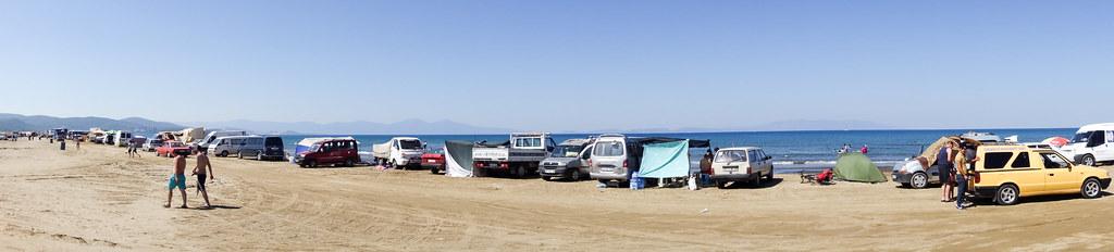 Eid celebration on the beach