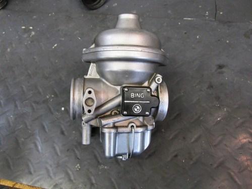 Carburetor Removed