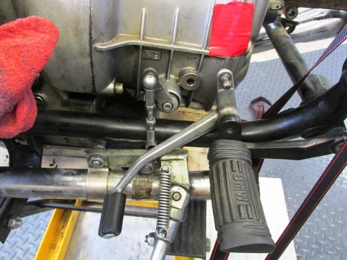 Shift Lever Adjuster Removed From Shift Lever