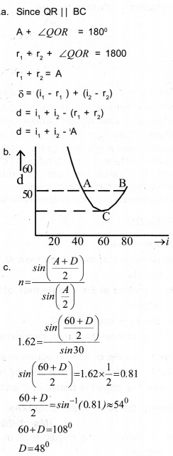 Plus Two Physics Chapter Wise Previous Questions Chapter 9 Ray Optics and Optical Instruments 1