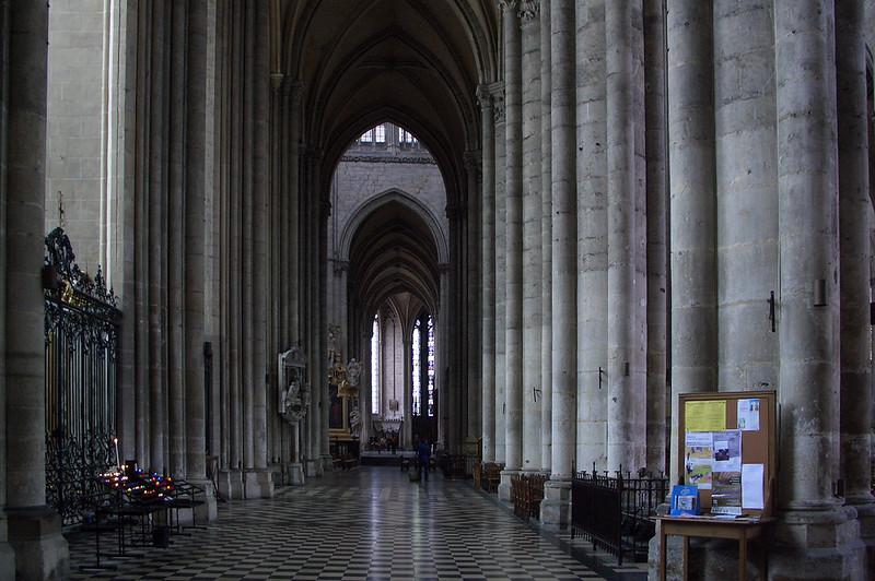 Внутреннее убранство Амьенского собора, Амьен, Франция
