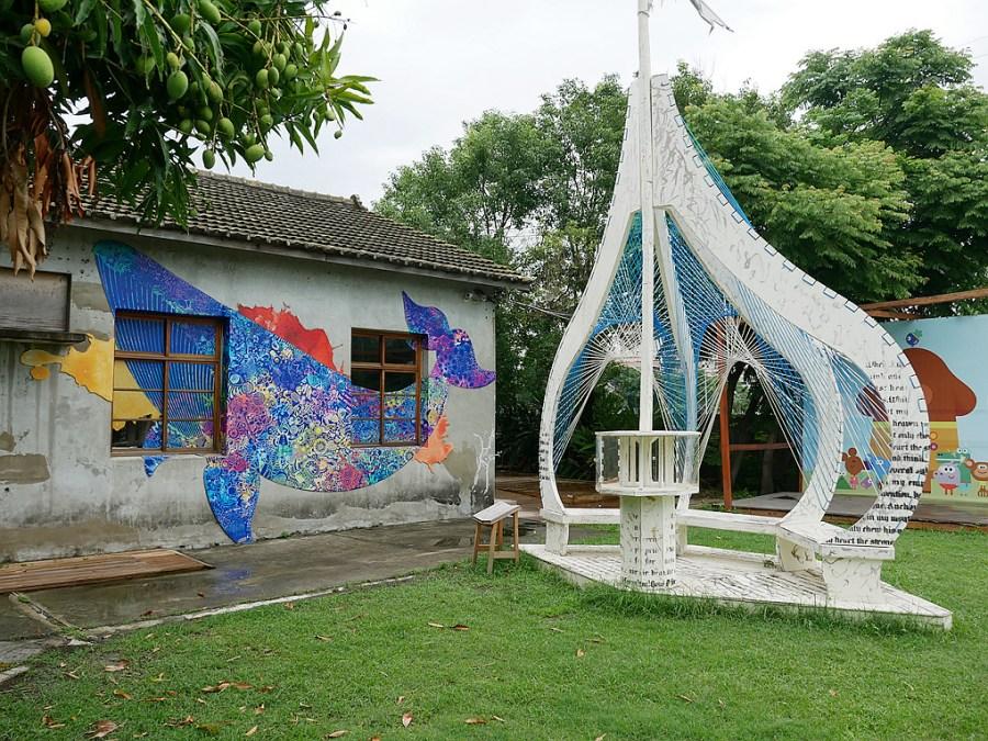 [台中旅遊]海灣繪本館|清水免費景點~充滿童趣的親子空間.讓繪本重現童話世界 @VIVIYU小世界